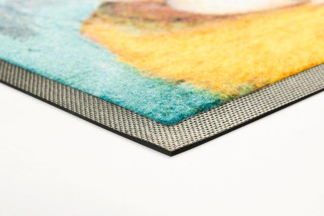 Detail Jet-Print-Velour